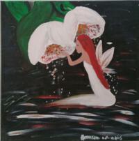 Schilderij engel