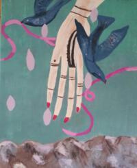 Schilderij hand